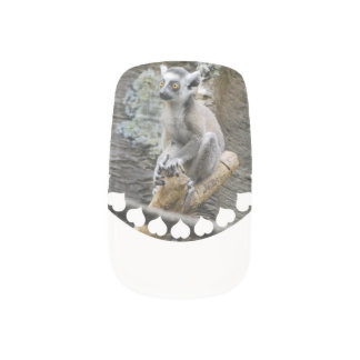 Baby Lemur Nails Stickers
