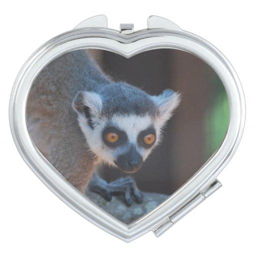 Baby Lemur Travel Mirror