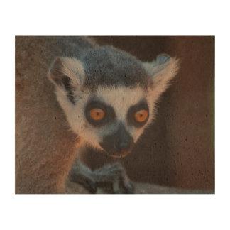 Baby Lemur Cork Paper Prints
