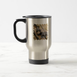 Baby Lemur Stainless Travel Mug