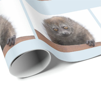Baby Lemur Wrapping Paper