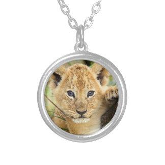 Baby Lion Cub Necklace