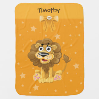 Baby Lion Fleece Baby Blanket