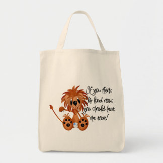 Baby Lion Hear Me Roar Tshirts and gifts Bag