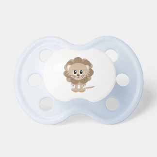 Baby Lion In Diapers Pacifier