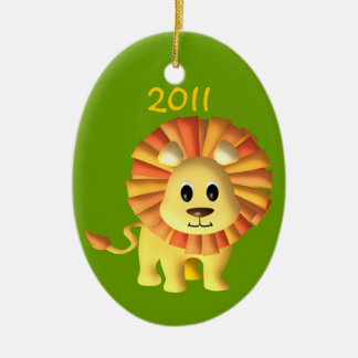 Baby Lion/ Photo Christmas Ornament