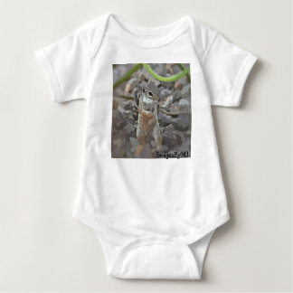 """Baby """"Little Mikey"""" One Piece Baby Bodysuit"""