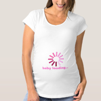 Baby Loading - pink Tshirt