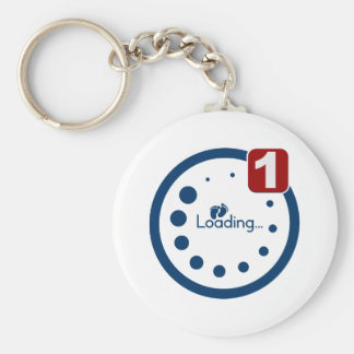 Baby Loading Plus Notification Key Ring
