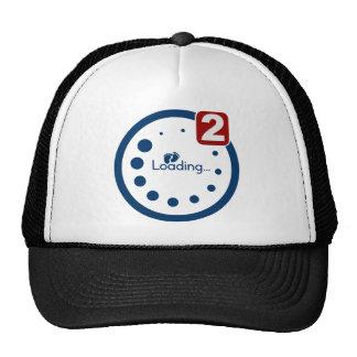 Baby Loading , Twin Notification Mesh Hat