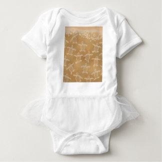 Baby loggerheads baby bodysuit