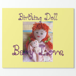 Baby Love/Birthing Doll Wrapping Paper