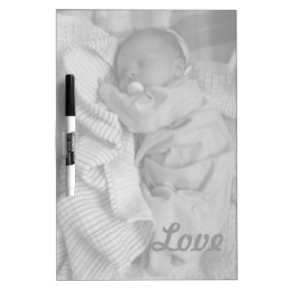 Baby love dry erase board