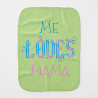 BABY LOVES BURP CLOTH