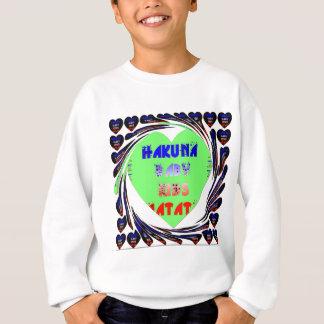 Baby Luminous Hearts Hakuna Matata Baby Kid Design Sweatshirt