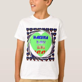 Baby Luminous Hearts Hakuna Matata Baby Kid Design T-Shirt