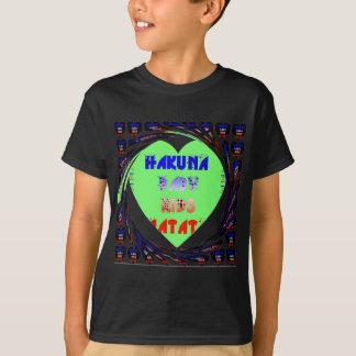 Baby Luminous Hearts Hakuna Matata Baby Kid Design Tee Shirts