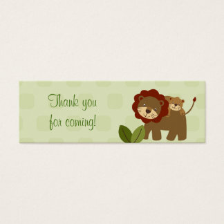Baby Luv Jungle Animal Baby Shower Favor Gift Tags