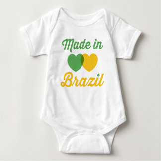 Baby Made in Brazil Baby Bodysuit