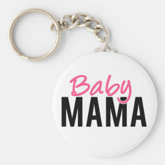 Baby Mama Key Ring