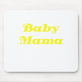 Baby Mama Mouse Pads