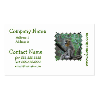 Baby Mandrill Business Cards