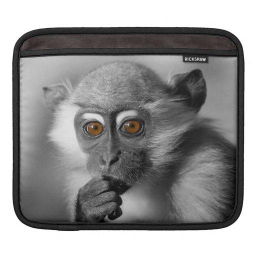 Baby Mangabey Monkey iPad Sleeves