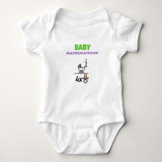 Baby Mathematician Baby Bodysuit