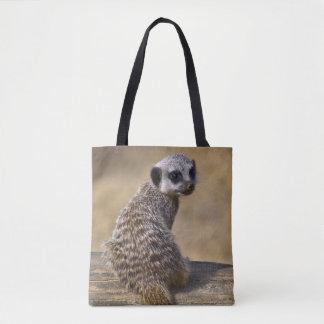 Baby Meerkat All Over Print Bag