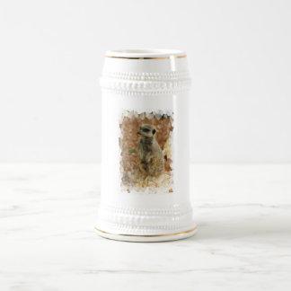 Baby Meerkat Beer Stein Mug