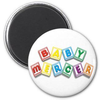 Baby Mercer 6 Cm Round Magnet