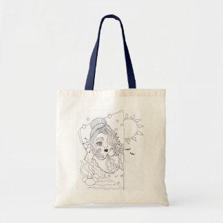 Baby Mermaid Tote Bag