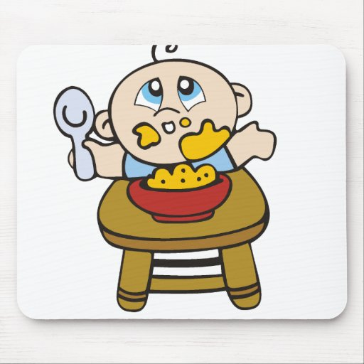 Baby Messy Eater Mouse Pad