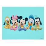 Baby Mickey Mouse and friends Posters