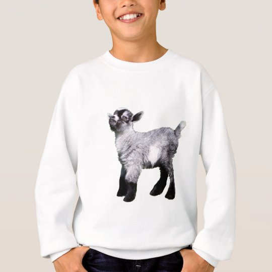Baby Miniature Goat left side Sweatshirt