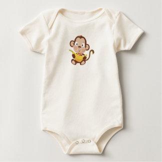 Baby Monkey Baby Bodysuit