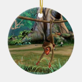 Baby Monkey Christmas Ornament