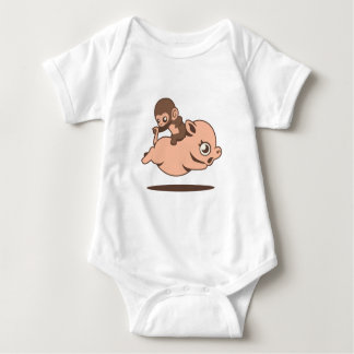 Baby Monkey (Going Backwards on a Pig) Tee Shirts
