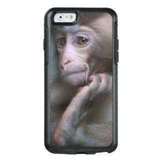 Baby monkey staring. OtterBox iPhone 6/6s case
