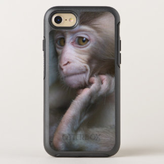 Baby monkey staring. OtterBox symmetry iPhone 7 case