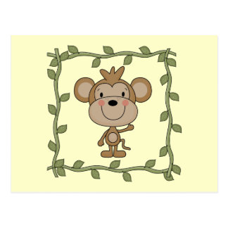 Baby Monkey Tshirts and Gifts Postcard