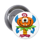 Baby Monster 6 Cm Round Badge