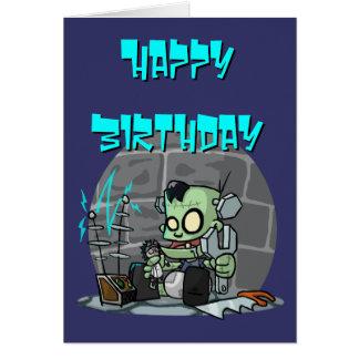 Baby Monster Birthday Card