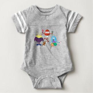 Baby Monster Football Bodysuit