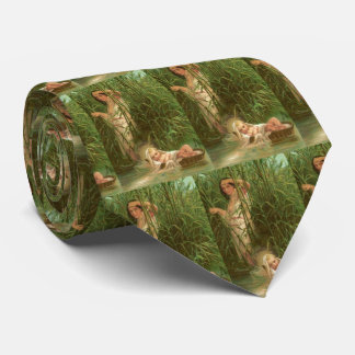 Baby Moses And The River Nile Tie
