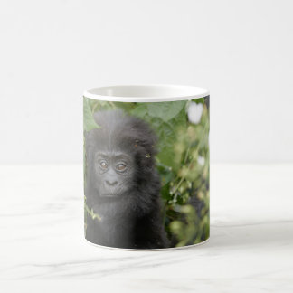 baby mountain gorilla coffee mug