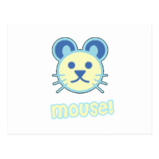 Baby Mouse Cartoon Postcard