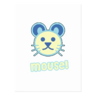 Baby Mouse Cartoon Postcards