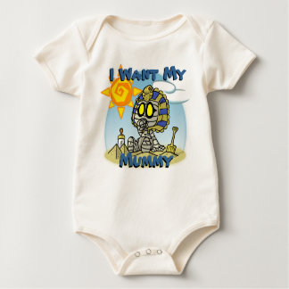 Baby Mummy Baby Grow Baby Bodysuit
