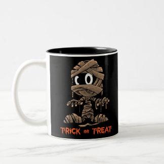 Baby mummy Two-Tone coffee mug